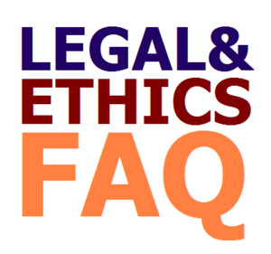 Legal and ethics faq