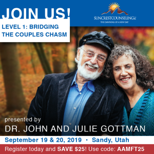 Gottman_eNews Ad for 12th and 26th issue