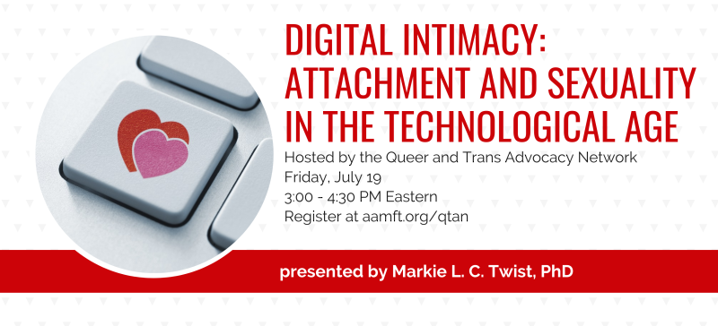 Digital intimacy webinar QTAN